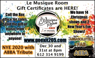 Gift Certificates are Here!