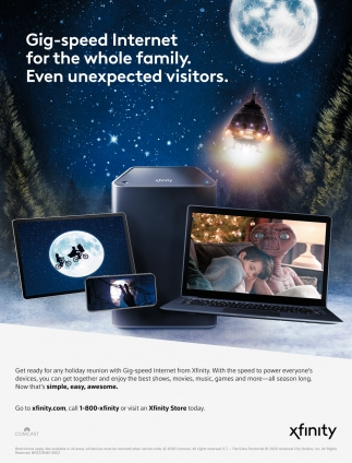 Gig-Speed Internet for the Whole Family. Even Unexpected Visitors