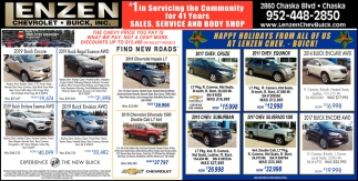 #1 in Servicing the Community for 41 Year Sales, Service and Body Shop