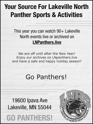 Go Panthers!