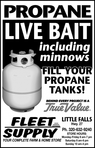 Fill Your Propane Tanks!
