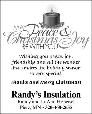 Thanks and Merry Christmas!