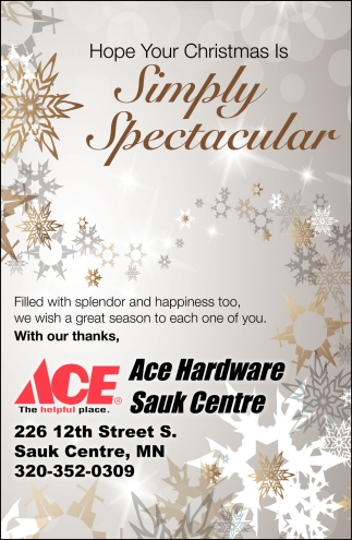 Hope Your Christmas is Simply Spectacular