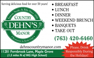 Serving Delicious Food Over 50 Years!