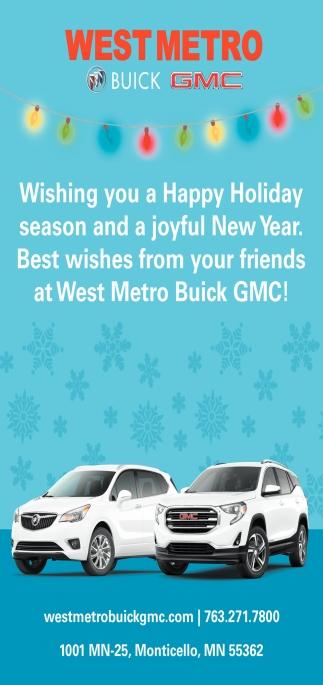 Wishing You a Happy Holiday Season and a Joyful New Year