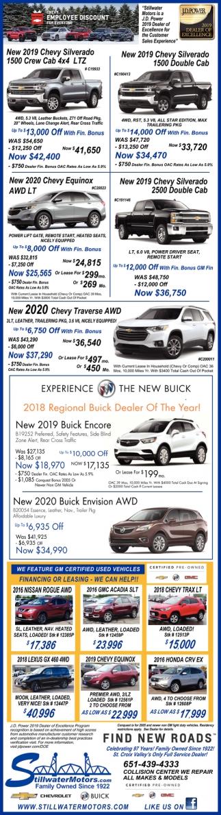 New 2019 Chevy Silverado 1500 Double Cap