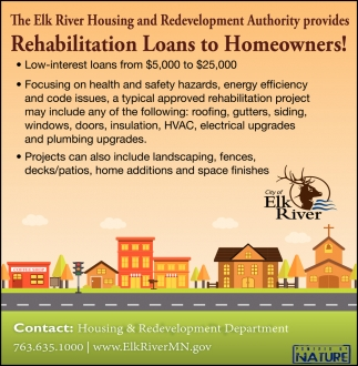 Rehabilitation Loans To Homeowners!