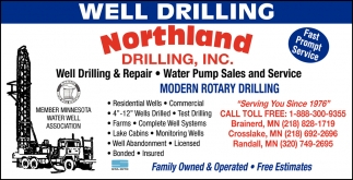 Well Drilling & Repair