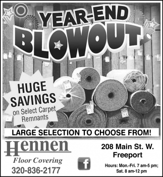 Year-End Blowout