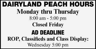 Ad Deadline
