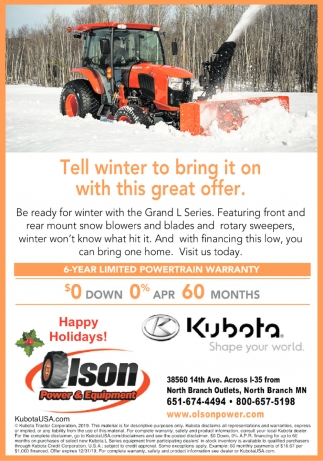 Tell Winter to Bring it On with this Great Offer