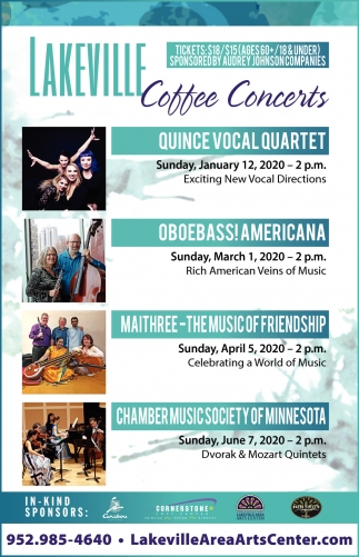Lakeville Coffee Concerts