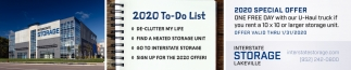 2020 To-Do List