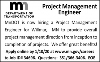 Project Management Engineer