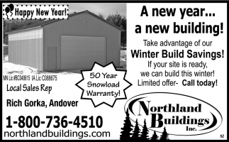 A New Year... a New Building!