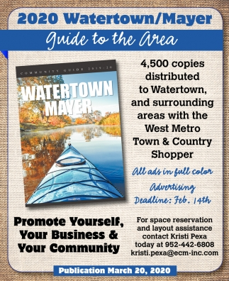 2020 Watertown/Mayer Guide to the Area