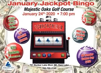 January Jackpot Bingo