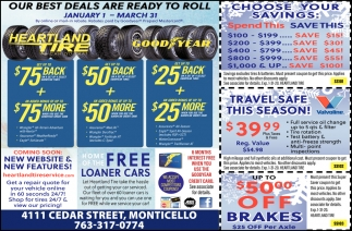 Our Best Deals are Ready to Roll