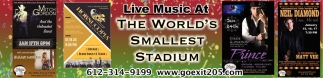 Live Music at The World's Smallest Stadium