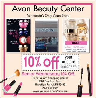 Senior Wednesday 10% OFF