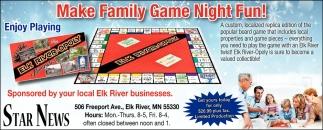 Make Family Game Night Fun!
