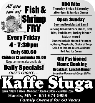 All You Can Eat Fish & Shrimp Fry