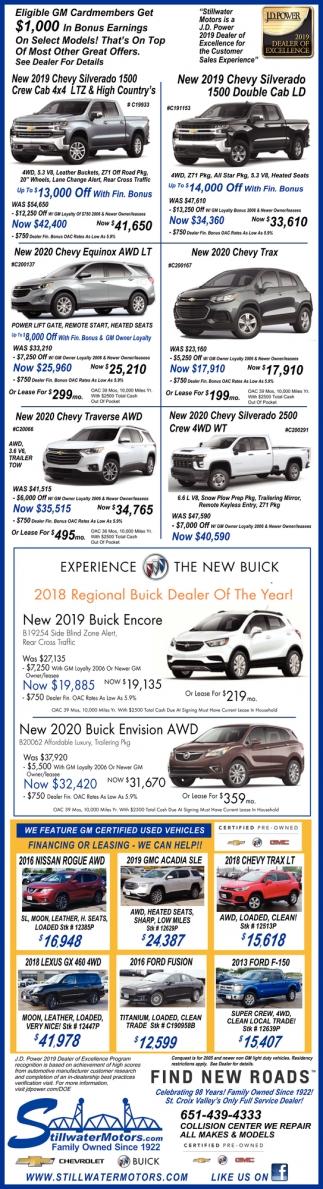 New 2019 Chevy Silverado 1500 Double Cab LD