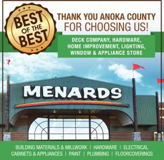Thank You Anoka for Choosing Us!