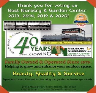 Best Nursery & Garden Center