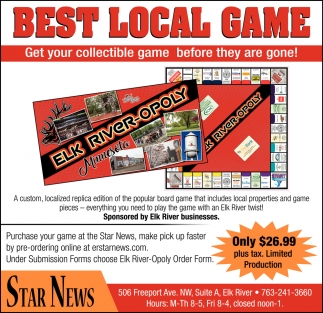 Best Local Game