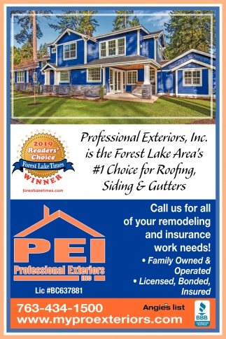 Call Us for All of Your Remodeling and Insurance Work Needs!