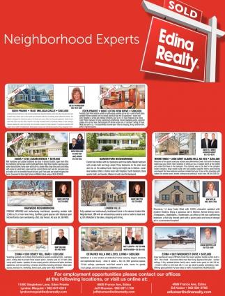 Neighborhood Experts