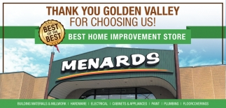 Thank You Golden Valley for Choosing Us!