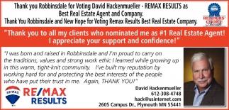 Thank You Robbinsdale