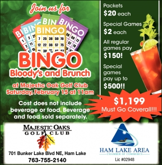 Join Us for Bingo