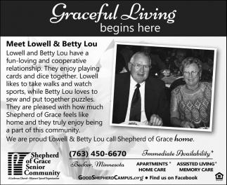 Graceful Living Begins Here