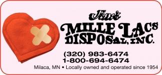 Jim's Mille Lacs Disposal