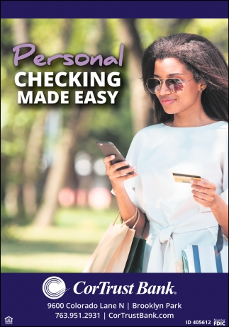 Personal Checking Made Easy