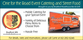 One for the Road Event Catering and Street Food