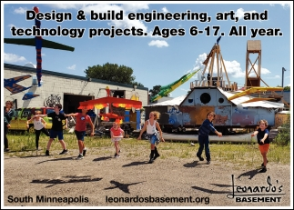 Design & build Engineering, Art, and Technology Projects