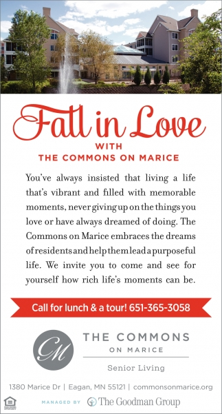 Fall in love with The Commons On Marice
