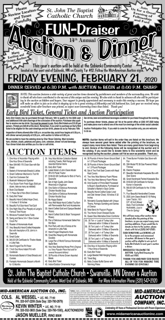 Fun-Draiser Auction & Dinner