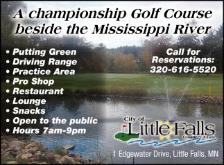 A Championship Golf Course Beside the Mississippi River