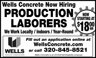 Production Laborers