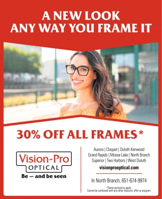 A New Look Any Way You Frame It