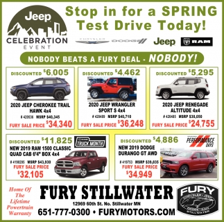 Stop in for Spring Test Drive Today!