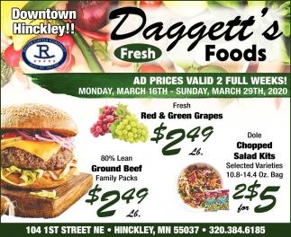 Ad Prices Valid 2 Full Weeks!