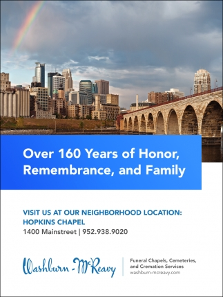 Over 160 Years of Honor, Remembrance, and Family