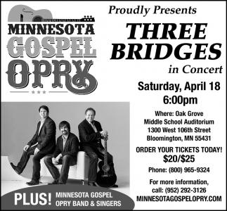 Three Bridges in Concert