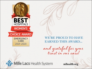 We're Proud to Have Earned this Award...